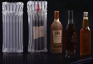 红酒运输为什么选择气柱袋包装
